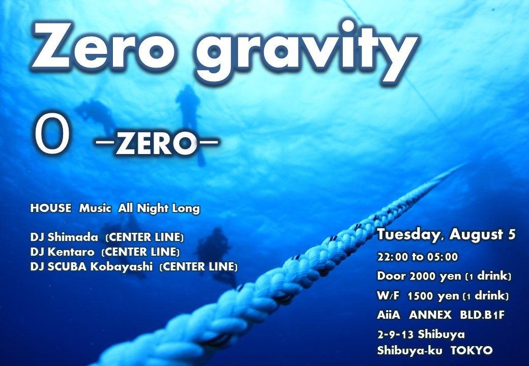 """""""Zero gravity"""""""