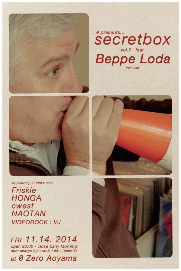 secretbox vol.7 feat Beppe Loda from Italy