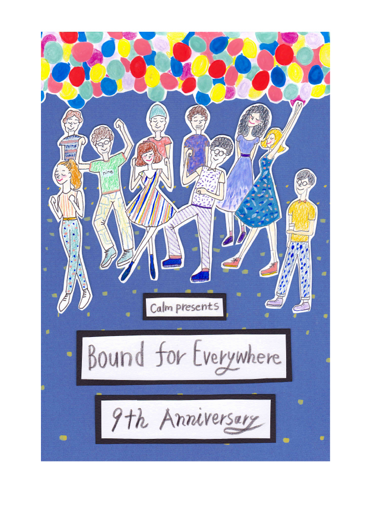Bound for Everywhere 9th Anniversary