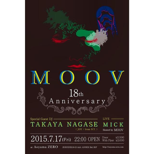 MOOV 18th Anniversary!!