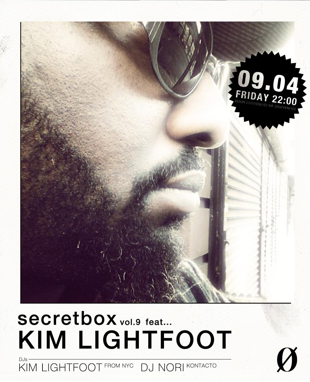 Secretbox vol.9 feat… KIM LIGHTFOOT (FROM NY)