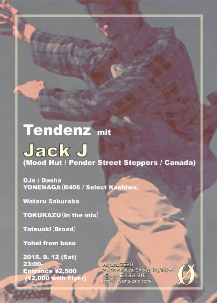 Tendenz mit Jack J (Mood Hut / Canada)