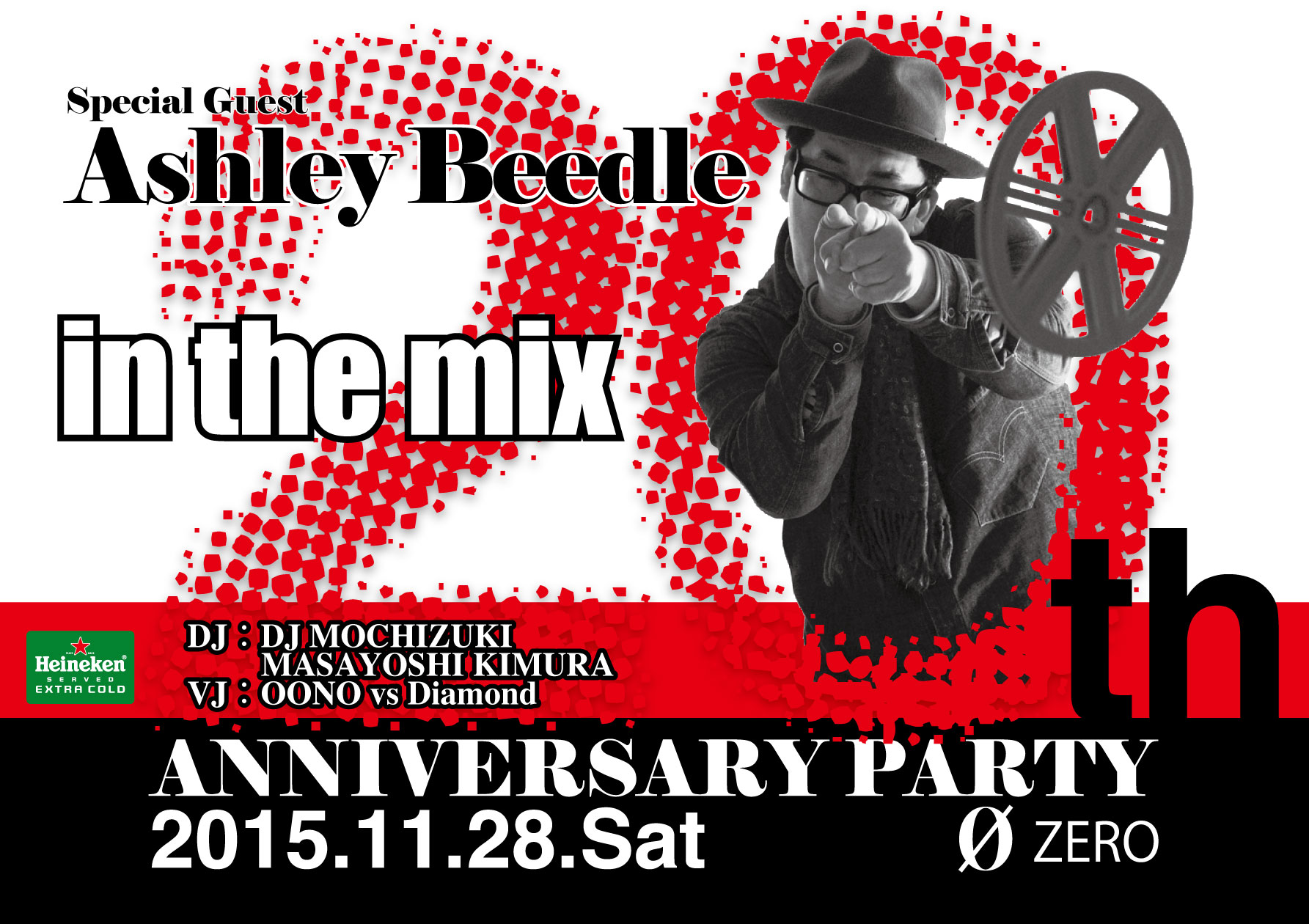 in the mix 20th Anniversary Party
