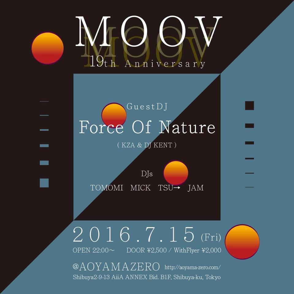 MOOV 19th Anniveasary