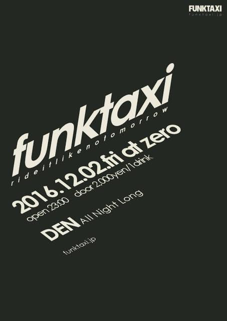 FUNKTAXI – Den All Night Long Set –