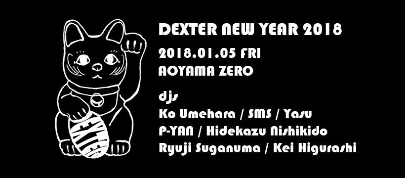 DEXTER NEW YEAR 2018