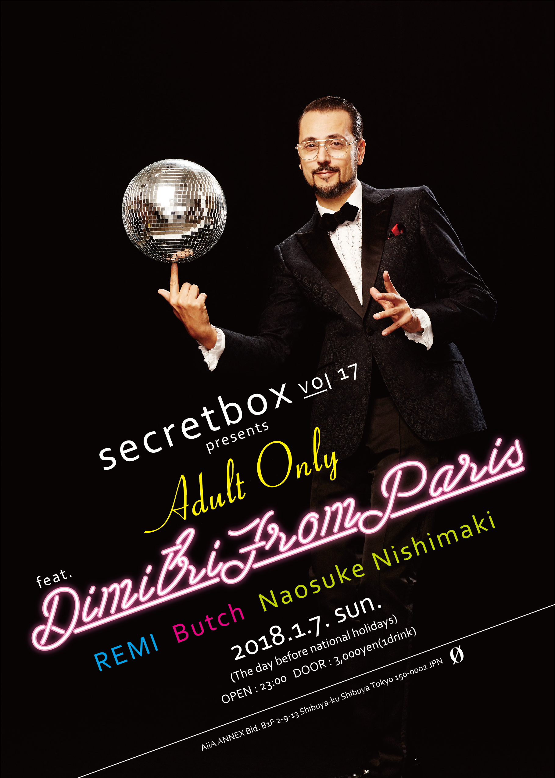 secretbox presents… Adult Only