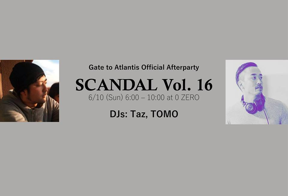 SCANDAL Vol. 16 – The official afterparty of Gate to Atlantis –