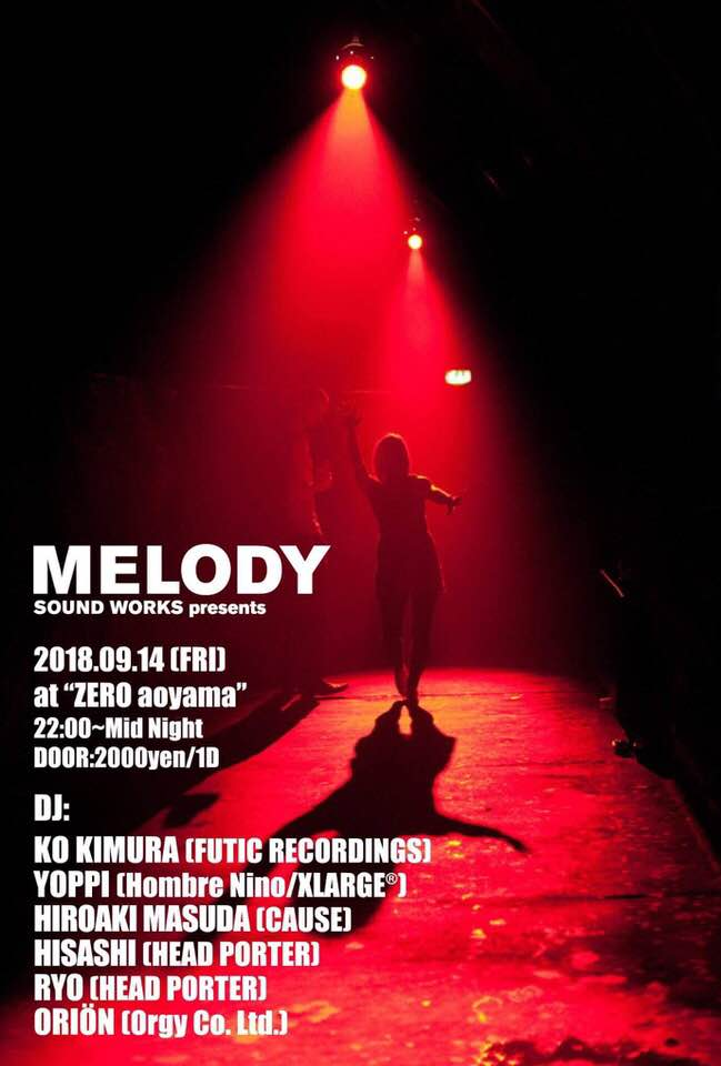 Melody Sound Works Presents.