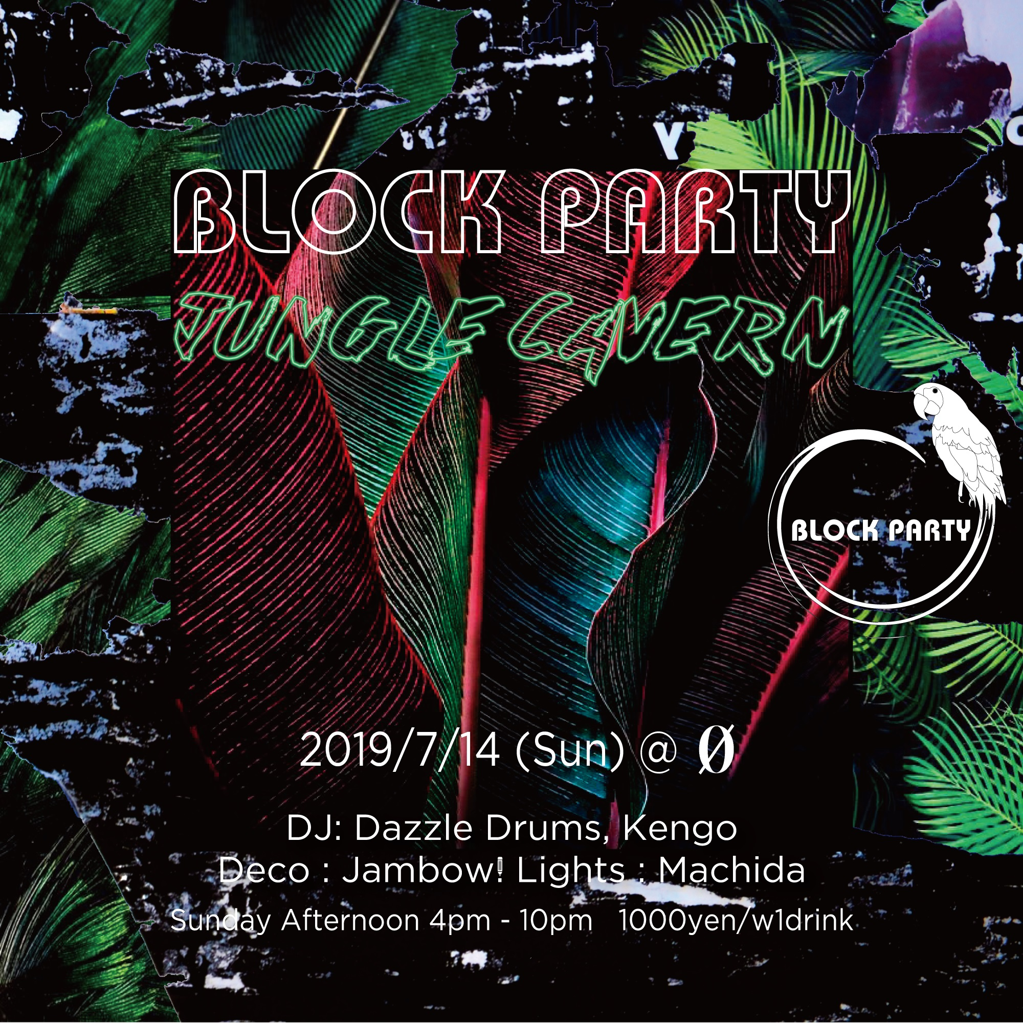 "Block Party ""Jungle Cavern"""