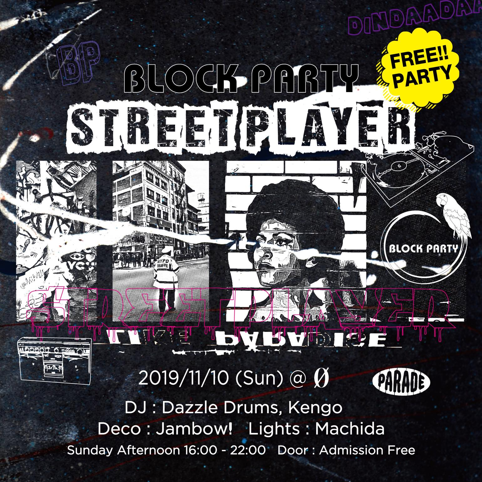 """Block Party """"Street Player"""""""