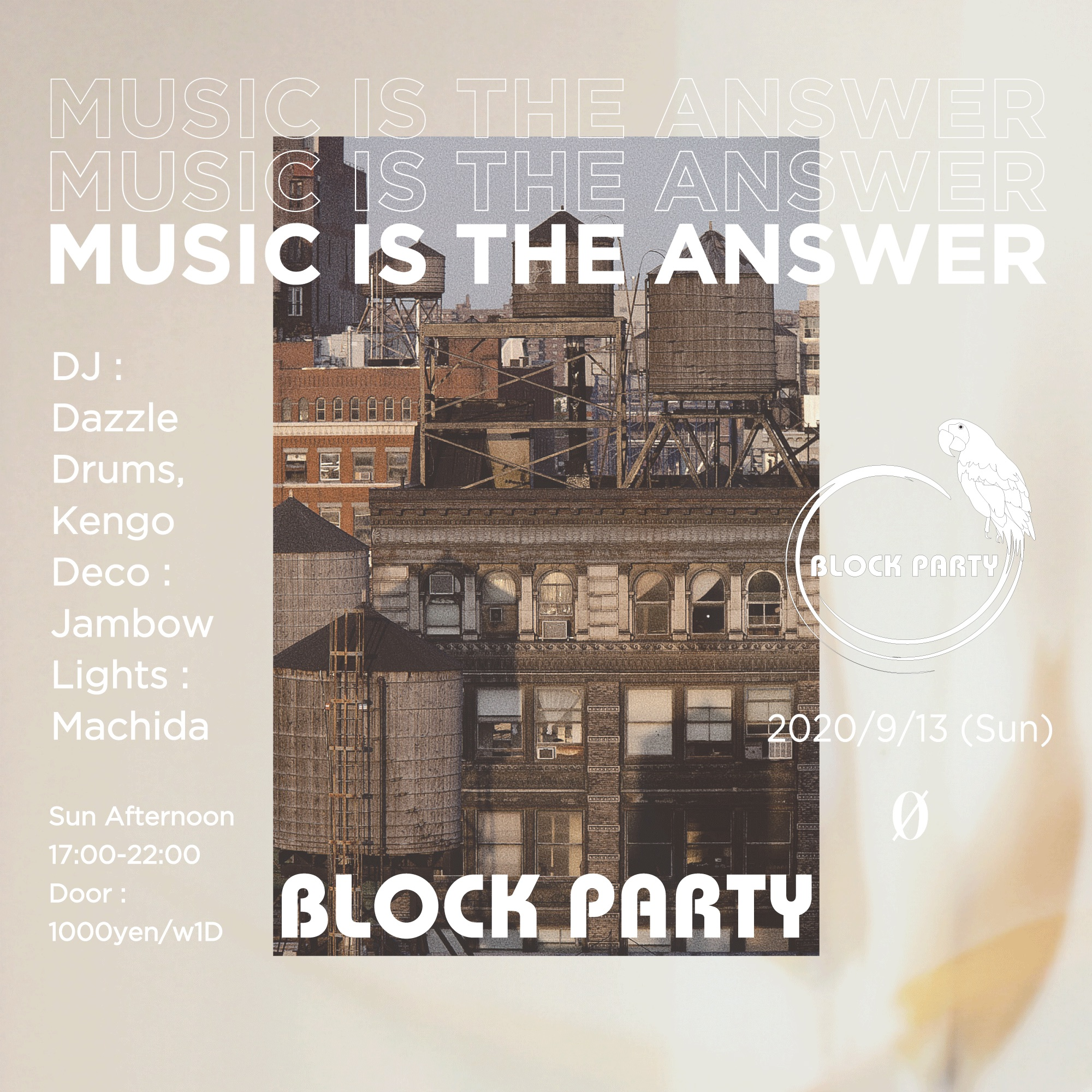 """Block Party """"Music Is The Answer"""""""